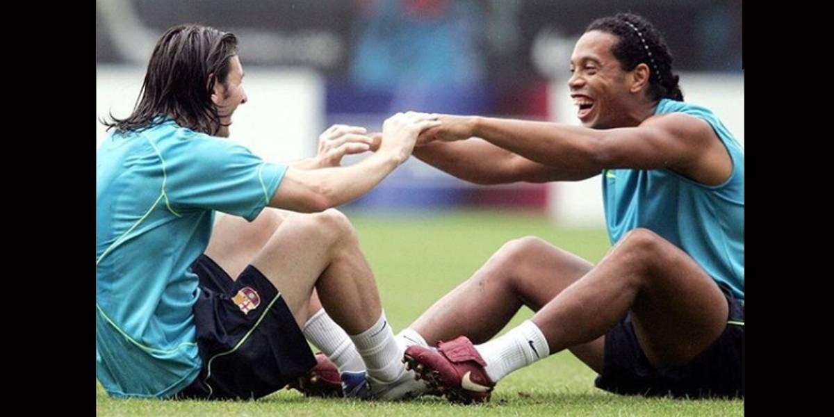 Messi eternamente grato a Ronaldinho