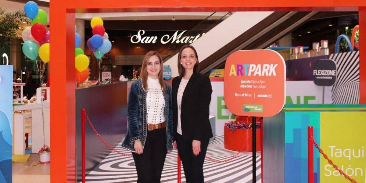 Naranjo Mall crea un área para desarrollar el arte en los niños