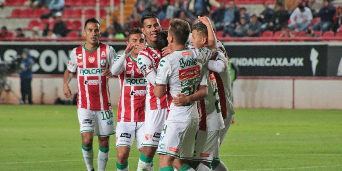 Necaxa propina paliza al Zacatepec en la Copa MX
