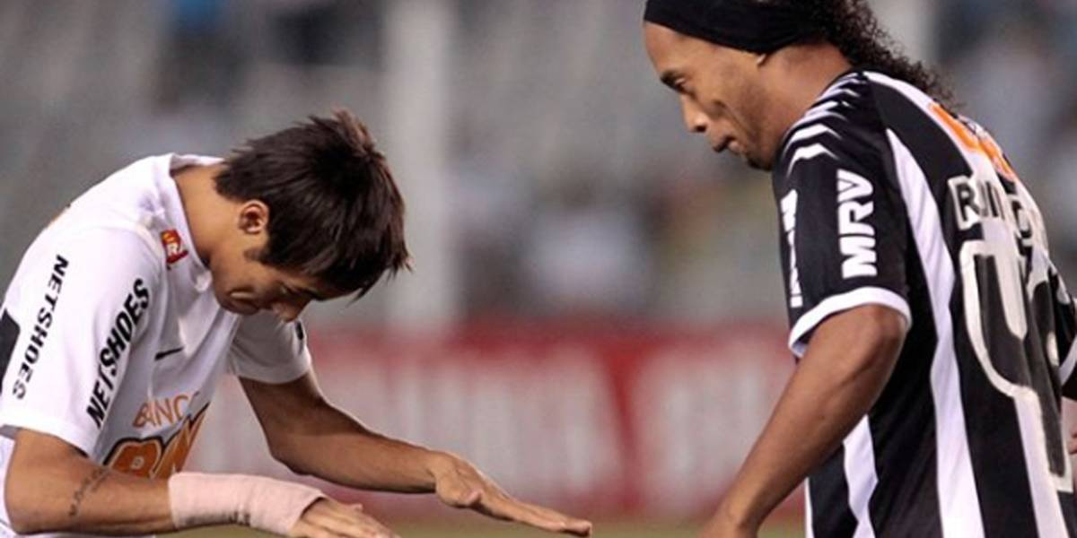 Tente não chorar: a última mensagem de Neymar para Ronaldinho que se tornou viral no Instagram