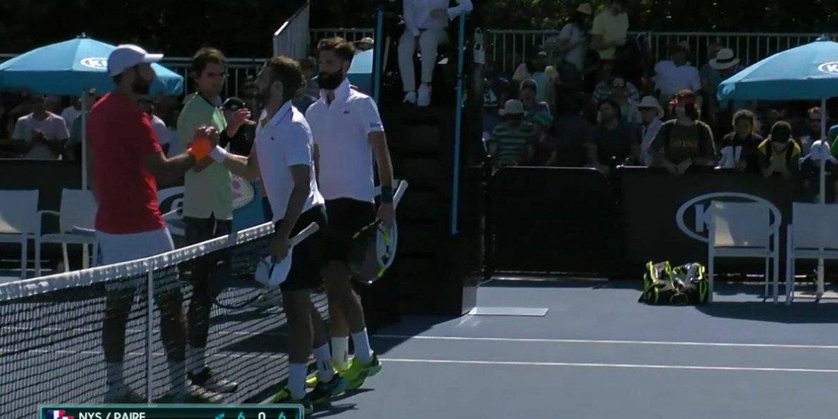 Julio Peralta cayó en su debut del dobles en el Abierto de Australia