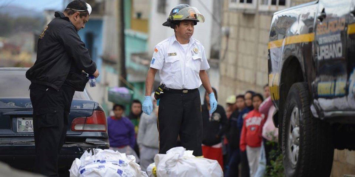 Pandilleros abandonan restos humanos en diferentes colonias de la zona 18