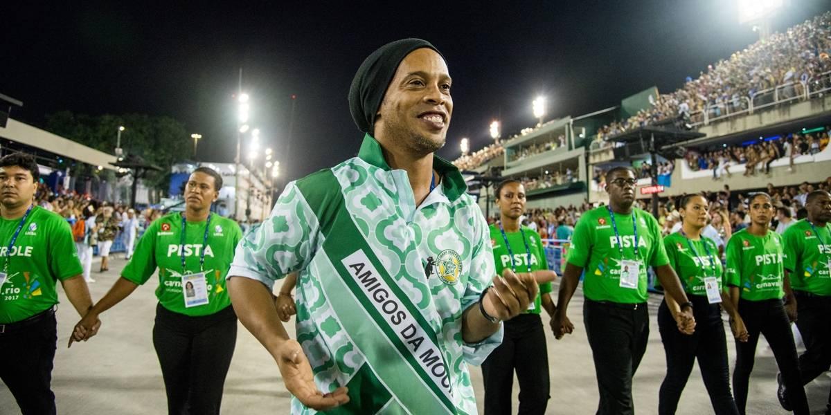 Tudo foi incrível, diz Ronaldinho sobre carreira