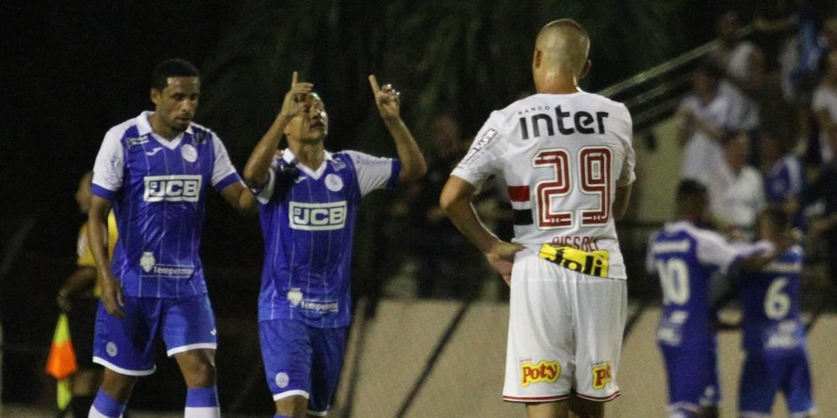 São Paulo começa o Paulistão perdendo do São Bento