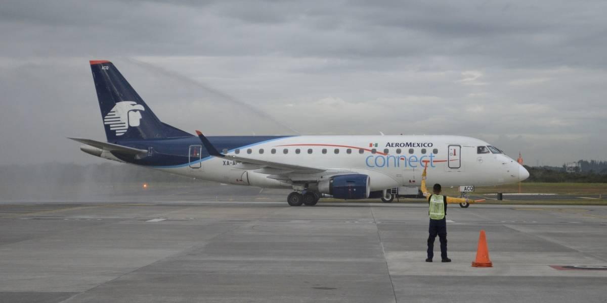 Aeroméxico abre nueva ruta entre Veracruz  y Monterrey