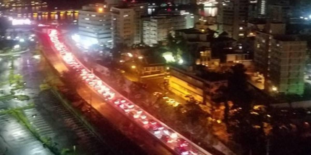 Carmen Yulín: multarán responsable de pizarra que causó mega tapón en San Juan
