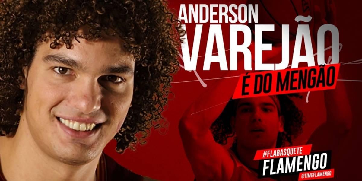 Varejão é oficializado como reforço do Flamengo no NBB