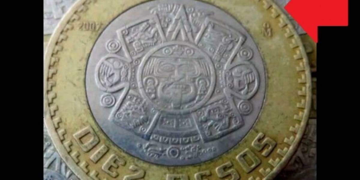 Estas monedas de 10 pesos podrían valer hasta cien veces más