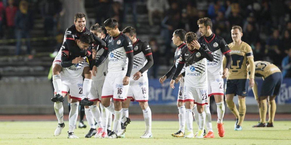 Lobos BUAP le pone un alto a Pumas en la Copa MX