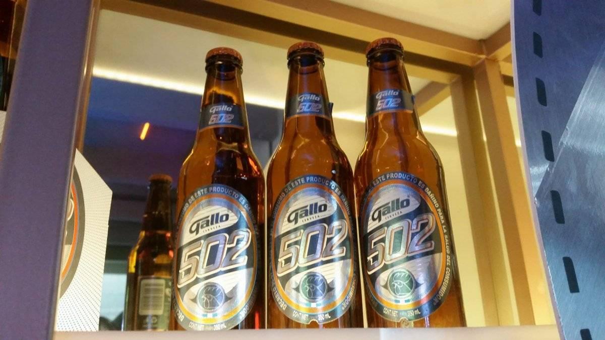 Cerveza Gallo presentó la nueva Gallo 502 Foto: David Lepe Sosa