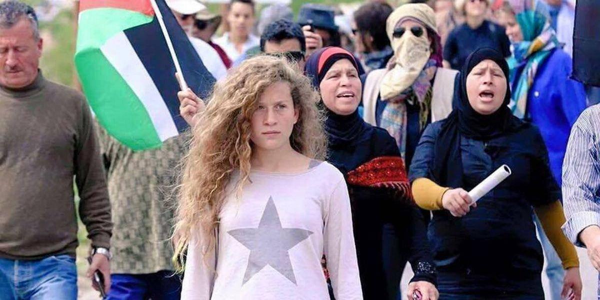 ¿Heroína o terrorista? Juez mantiene en prisión a Tamimi, símbolo palestino