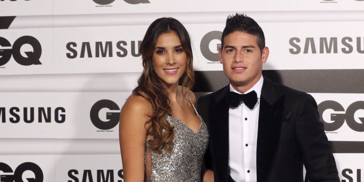 El piropo de James Rodríguez a Daniela Ospina, a pesar de lo que se dice