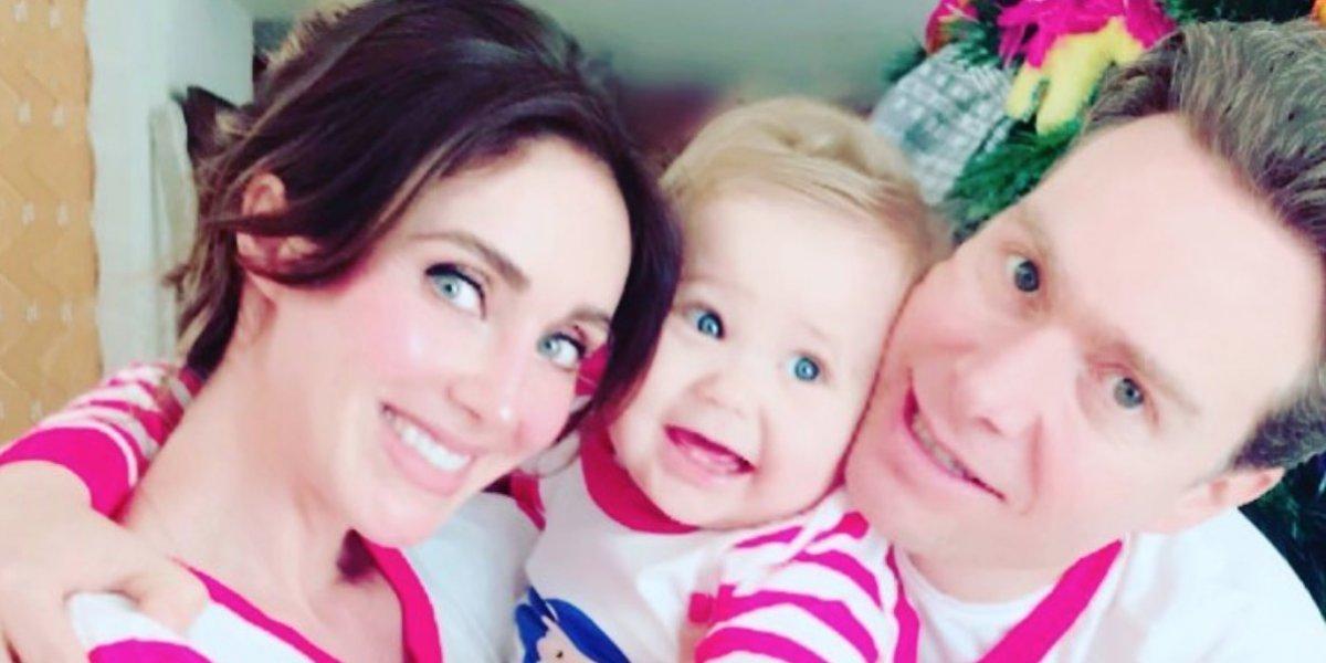 Anahí y Manuel Velasco festejan el primer año de su hijo