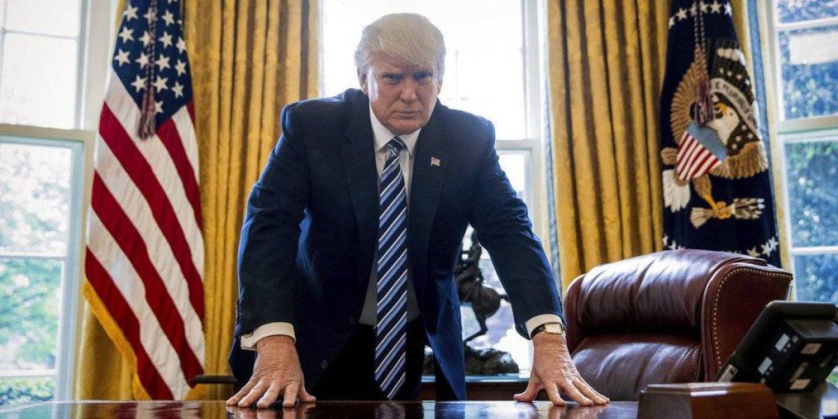 """Donald Trump: las polémicas  que definen el primer año del  """"anti-presidente"""" de EEUU"""