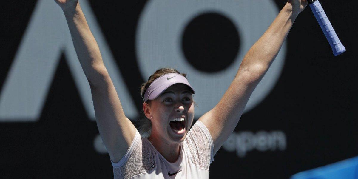 Maria Sharapova enfrentará a Kerber en Australia