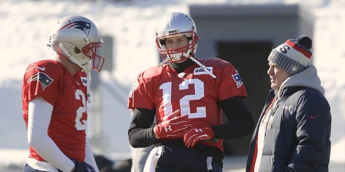 Brady se ausenta de práctica de Nueva Inglaterra