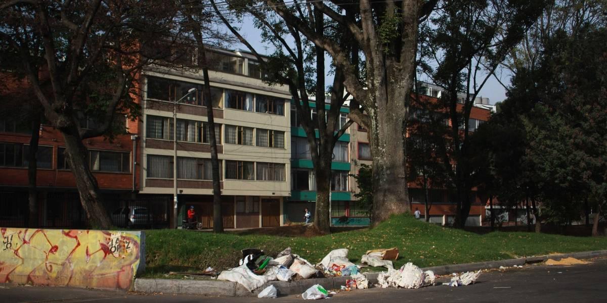 Bogotá amaneció llena de basura, no se hizo la recolección