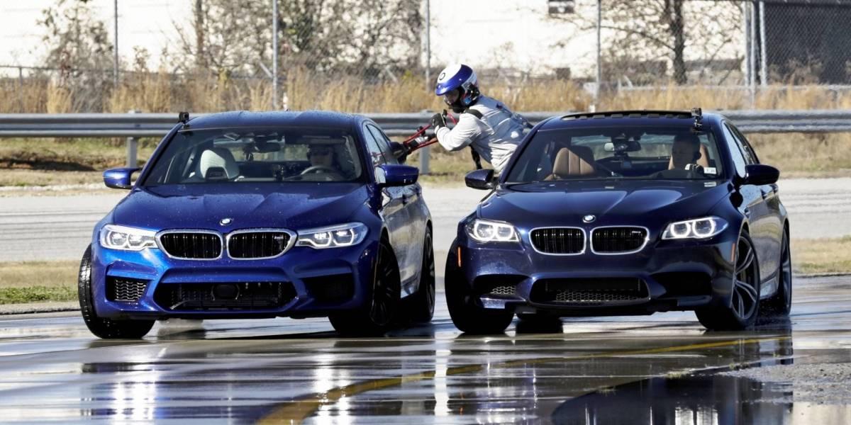 El BMW M5 bate el Récord Guinness derrapando ¡374 kms en ocho horas!