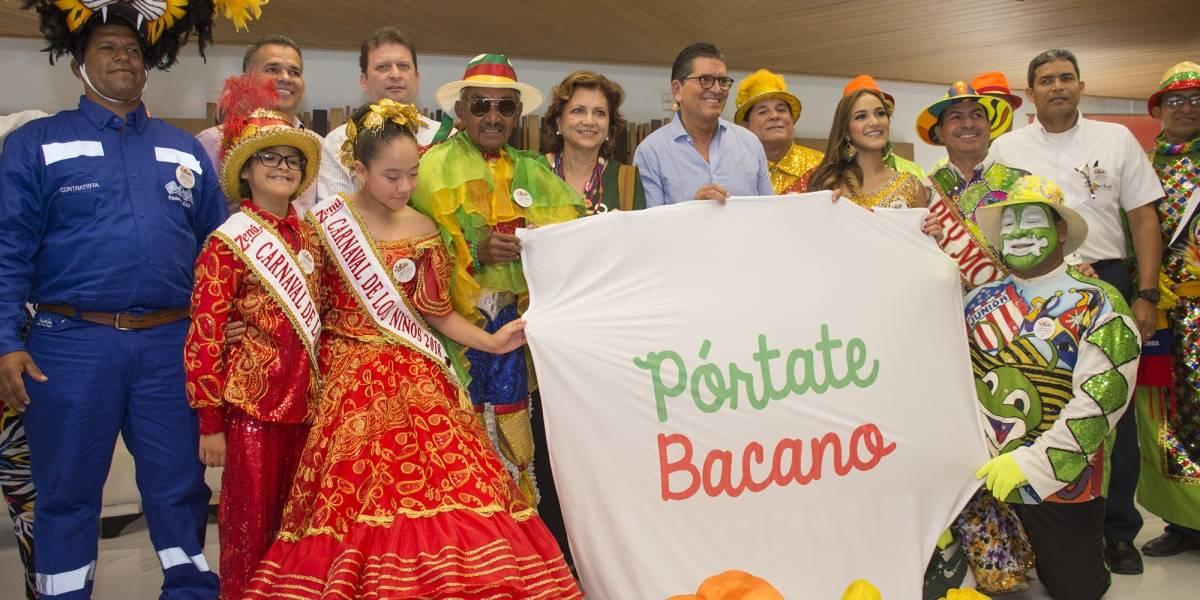 Promueven campaña de cultura ciudadana en el Carnaval de Barranquilla