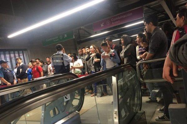 Línea 6 del Metro presenta nueva interrupción de servicio