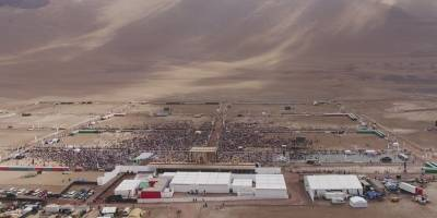 Fotos de Playa Lobito en espera del Papa
