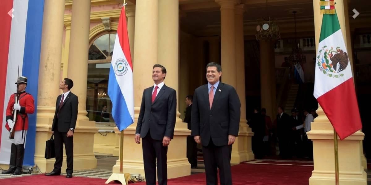 Peña Nieto firma acuerdos para fortalecer lazos con Paraguay