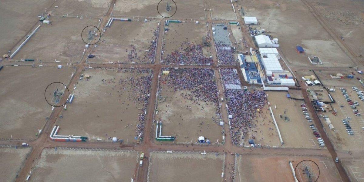 """Jorge Baradit revela """"la historia secreta"""" de la visita del papa Francisco en Iquique"""
