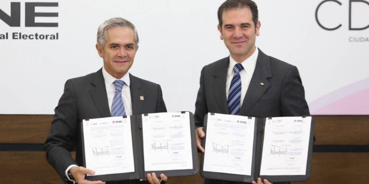 INE y gobierno capitalino blindan programas sociales ante elecciones