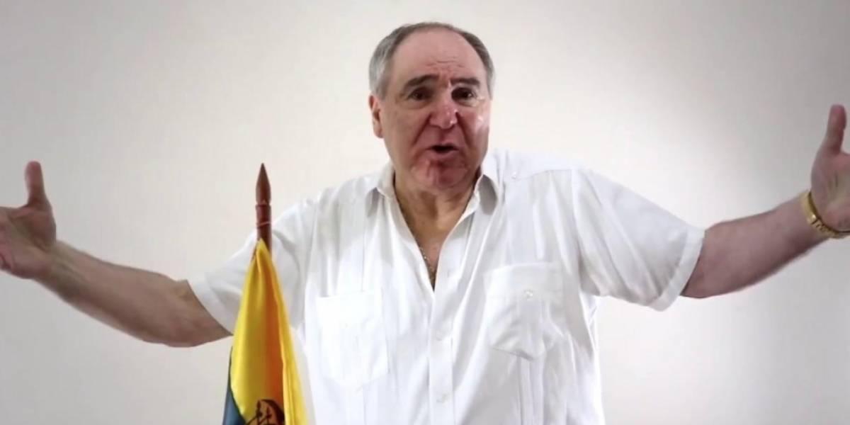 Abdalá Bucaram realiza campaña en Quito por el Sí en la Consulta Popular