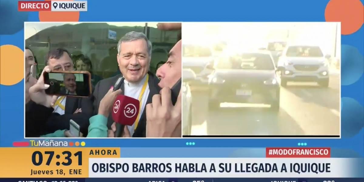 """""""Una vergüenza"""": Las críticas a Claudio Fariña por entrevista a obispo Barros y discusión con periodista argentina"""