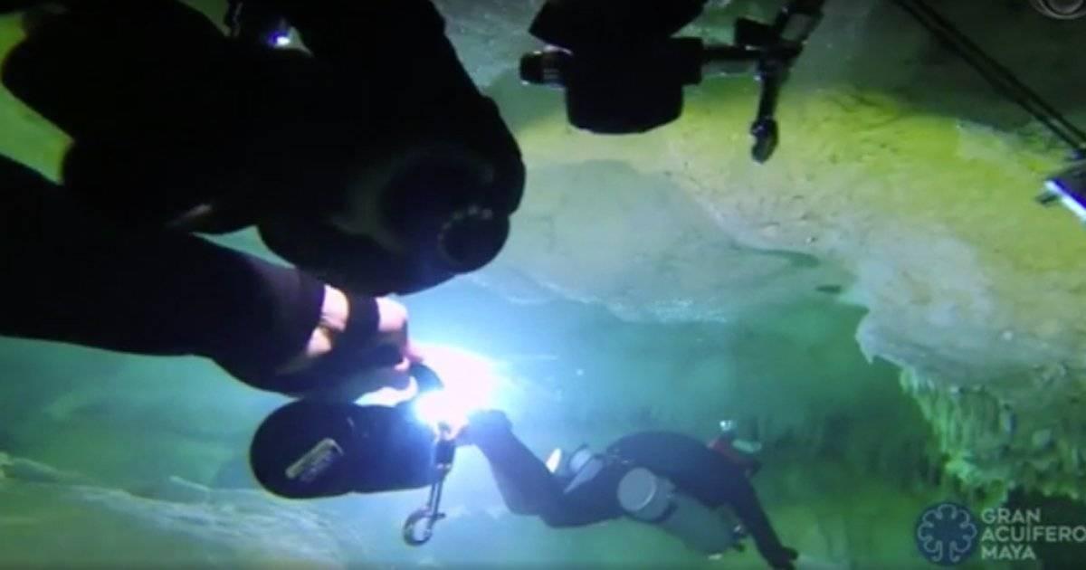 Maior caverna submersa do mundo México