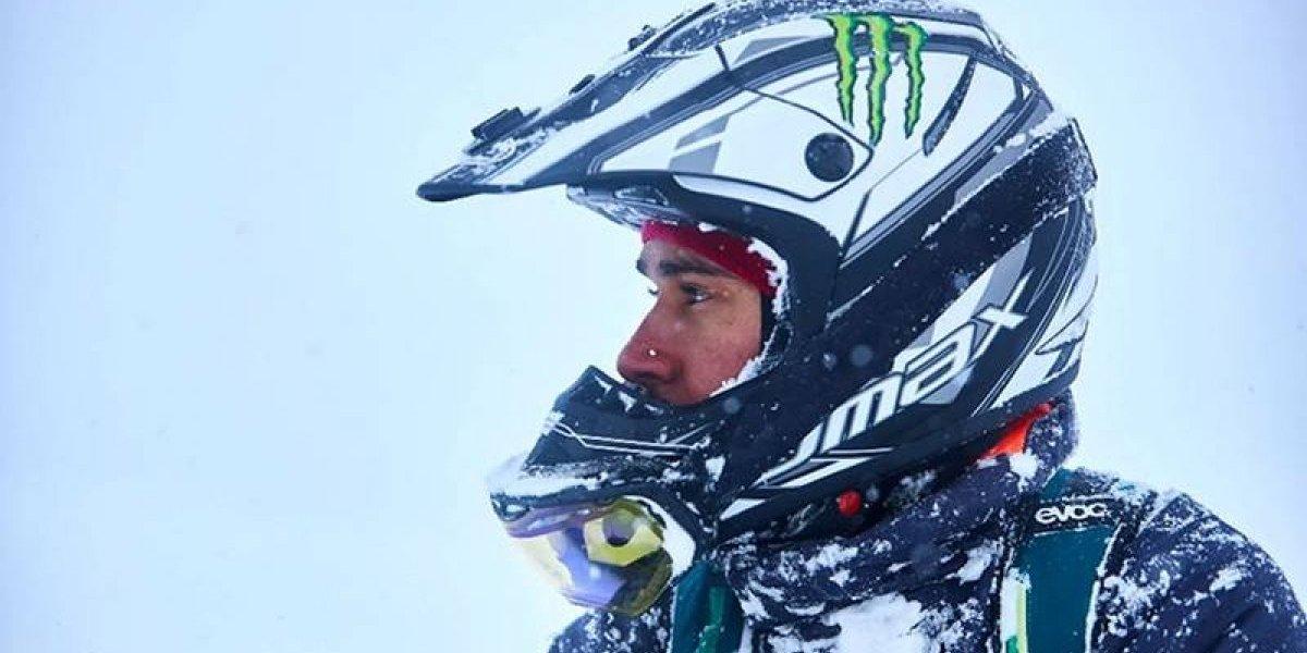 Lewis Hamilton se entrenó en la nieve previo al comienzo de la F1