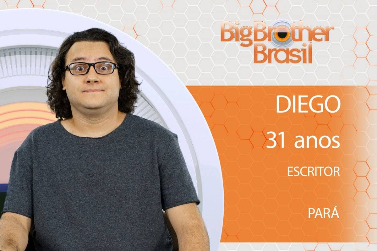 Diego Big Brother Brasil BBB 18