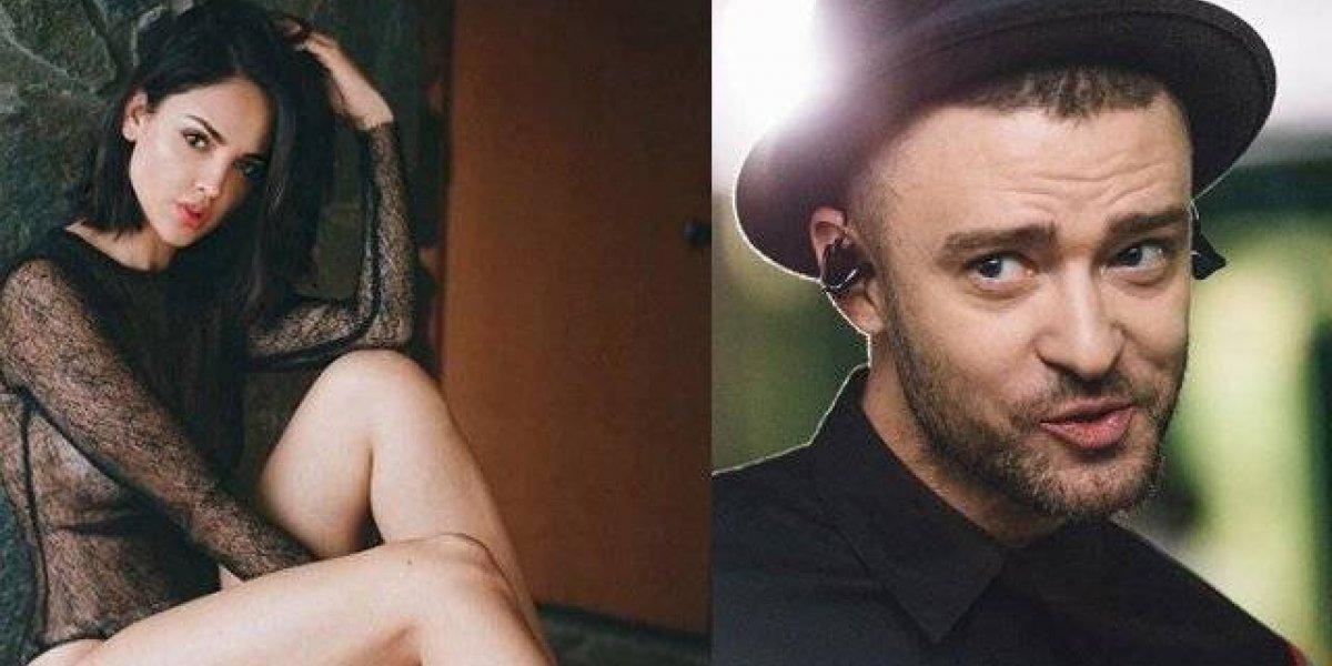 Críticas y halagos a Eiza González por desnudarse para Justin Timberlake
