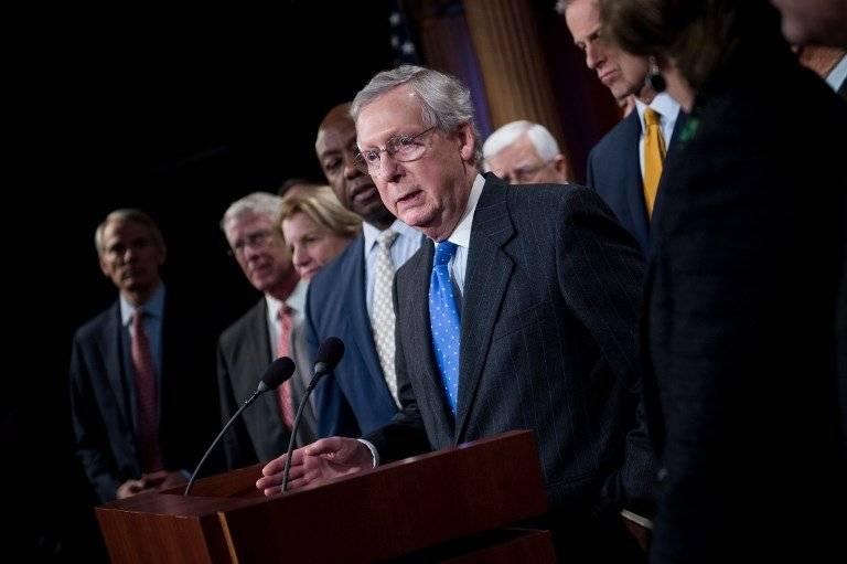 Mitch McConnell, líder de la mayoría republicana en el Senado