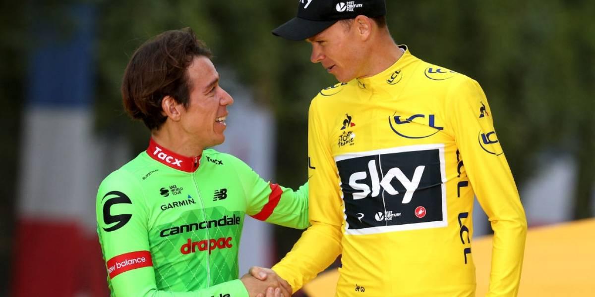 Presidente de la UCI pidió al Sky suspender a Chris Froome