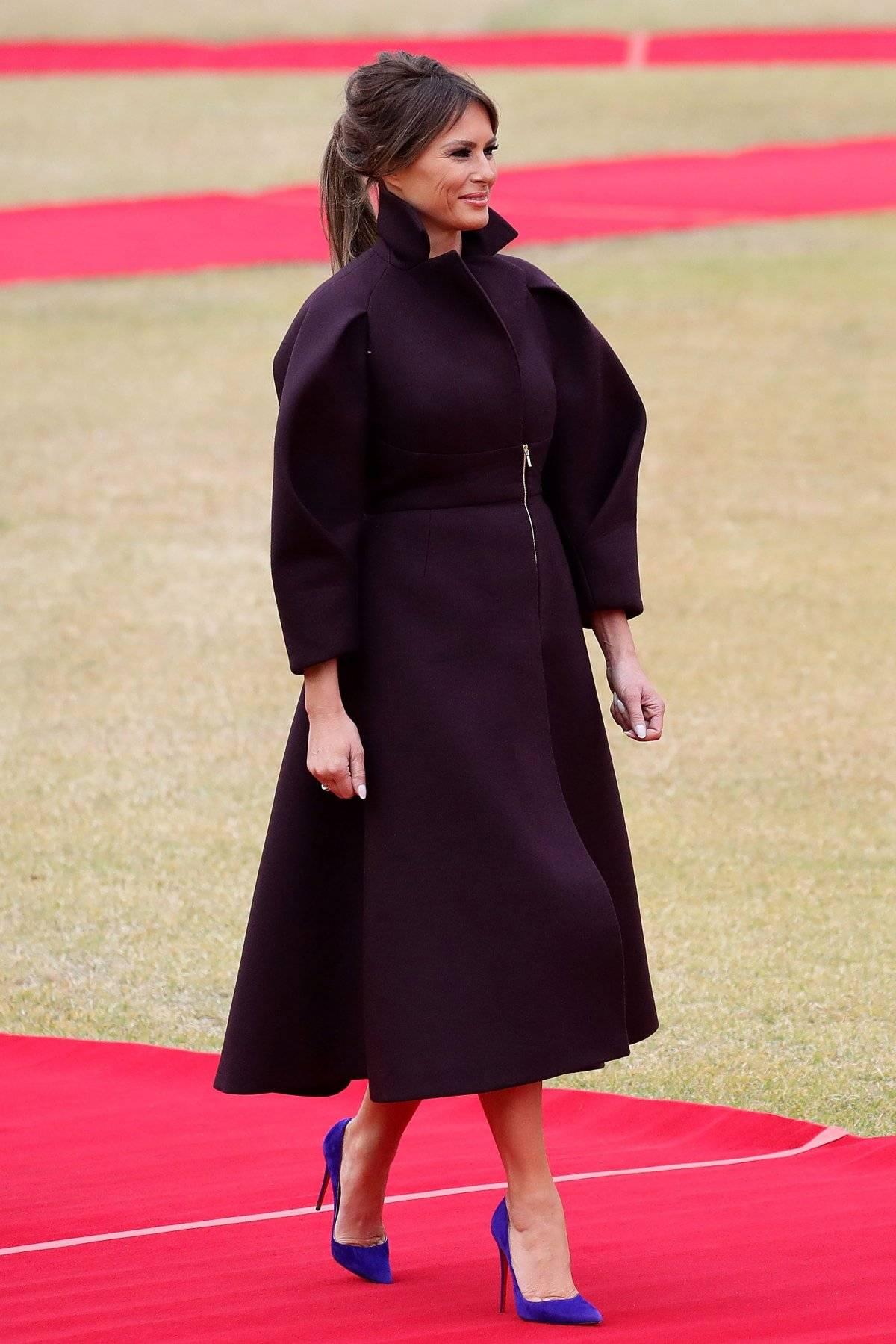 Lo bueno: El color morado oscuro es encantador. Lo malo: Ella de bajo perfil parece un luchador de sumo muy elegante. |getty