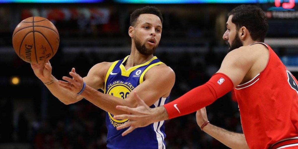 Los Warriors siguen intratables en la NBA: suman 14 triunfos seguidos como visita