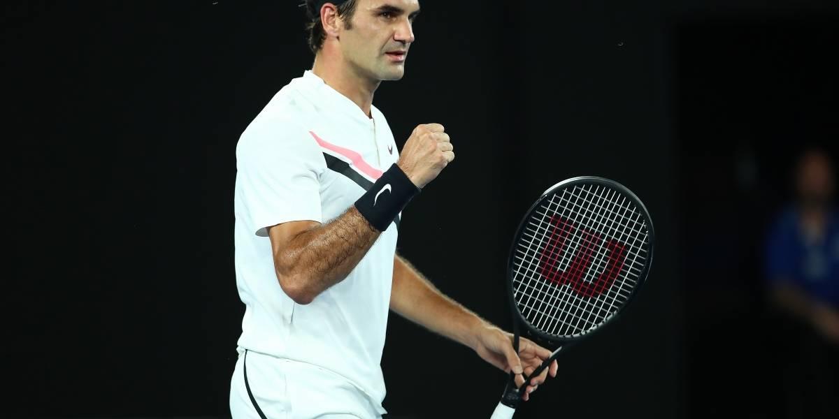 Abierto de Australia: Federer, Djokovic y Del Potro avanzan, Wawrinka se queda en el camino