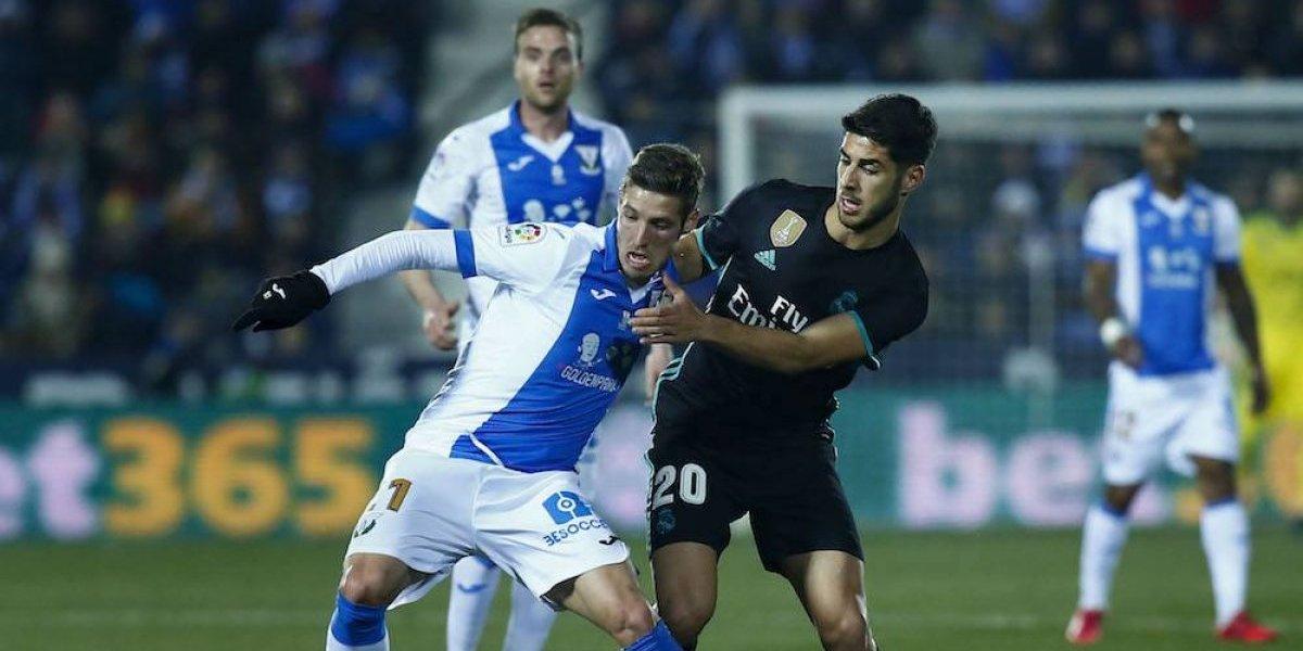 Real Madrid consigue sufrido triunfo sobre el Leganés