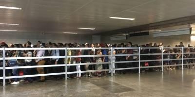 greve transferência linha amarela e linha verde