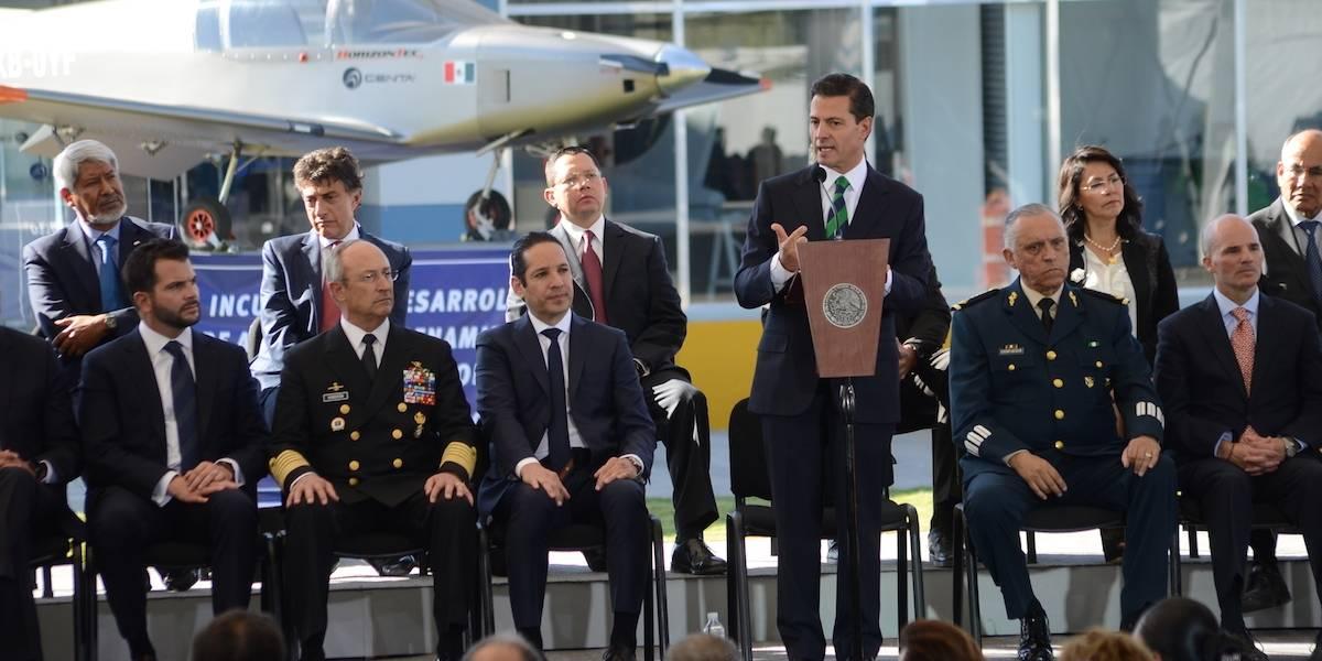 Lámparas LED causaron irritación de ojos a Peña Nieto, confirma Narro