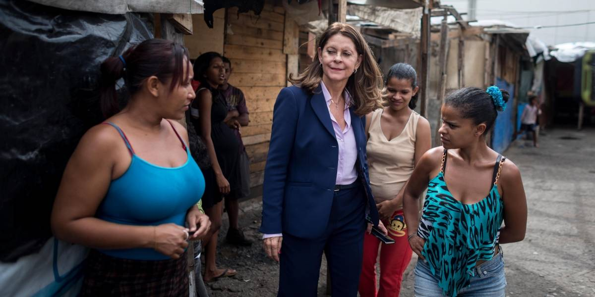 Marta Lucía Ramírez empezó su campaña en Caracas