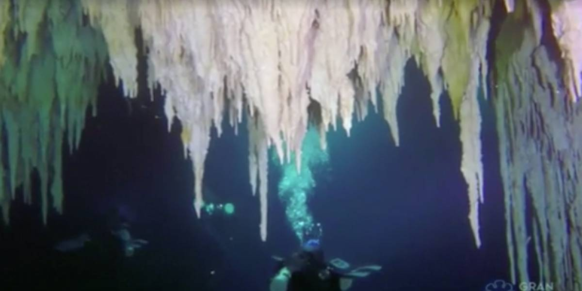 Mergulhadores descobrem maior caverna submersa do mundo