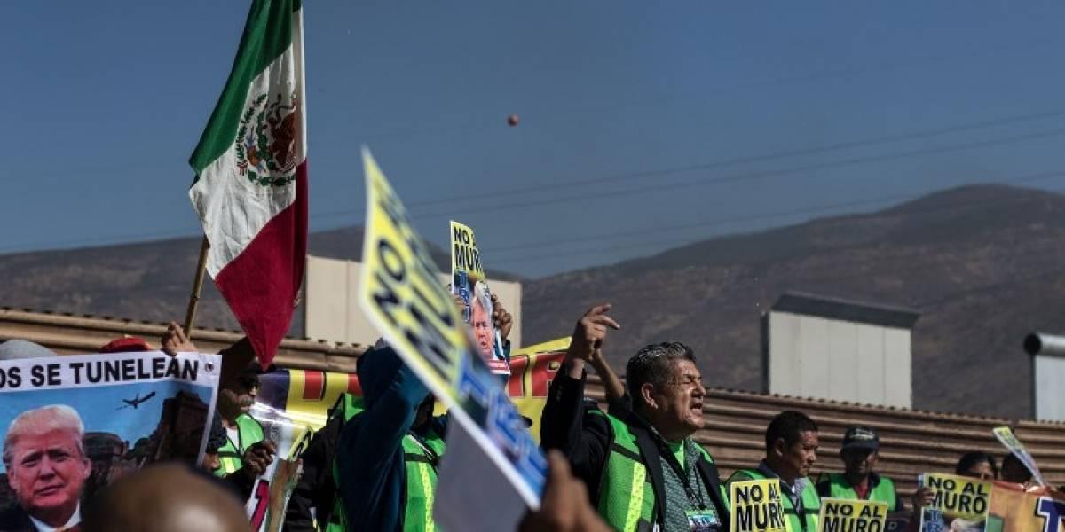 """México reitera que """"no pagará de ninguna manera"""" por el muro de Trump"""
