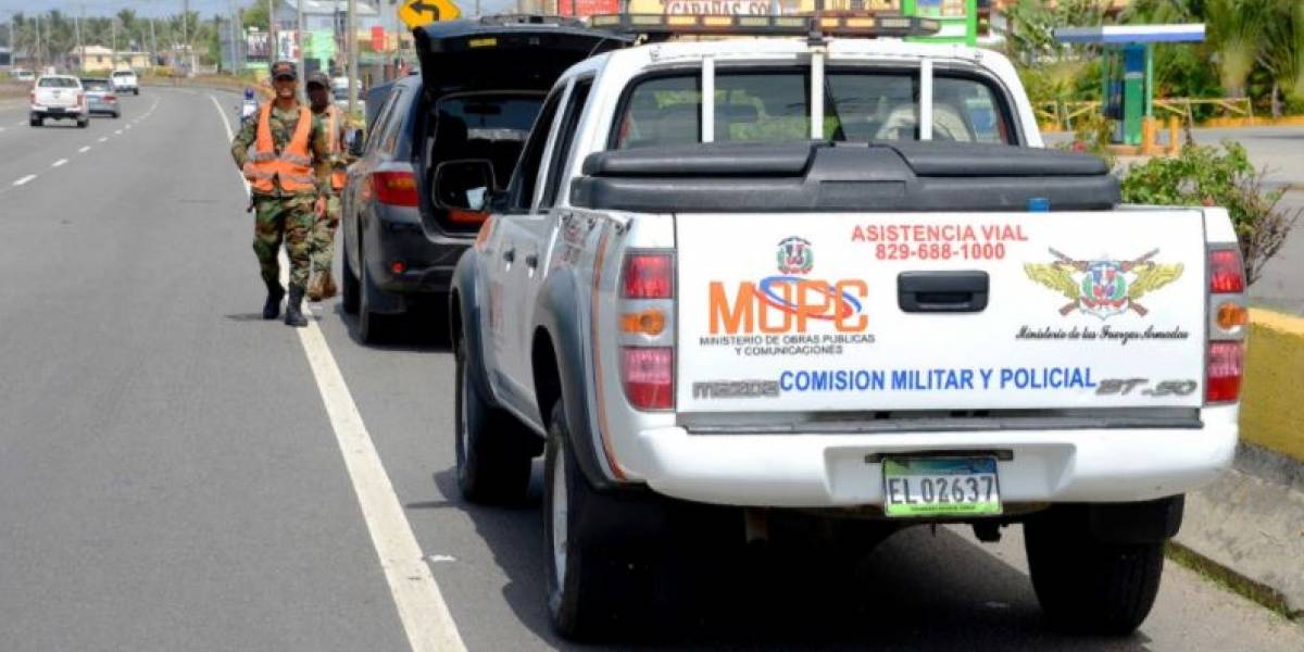 MOPC y COE desplegarán operativo de asistencia vial con motivo Día la Altagracia