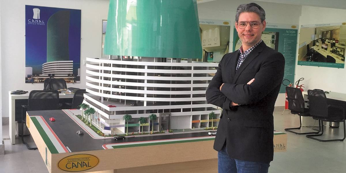 Empresário da construção civil conta a sua trajetória na empresa da família