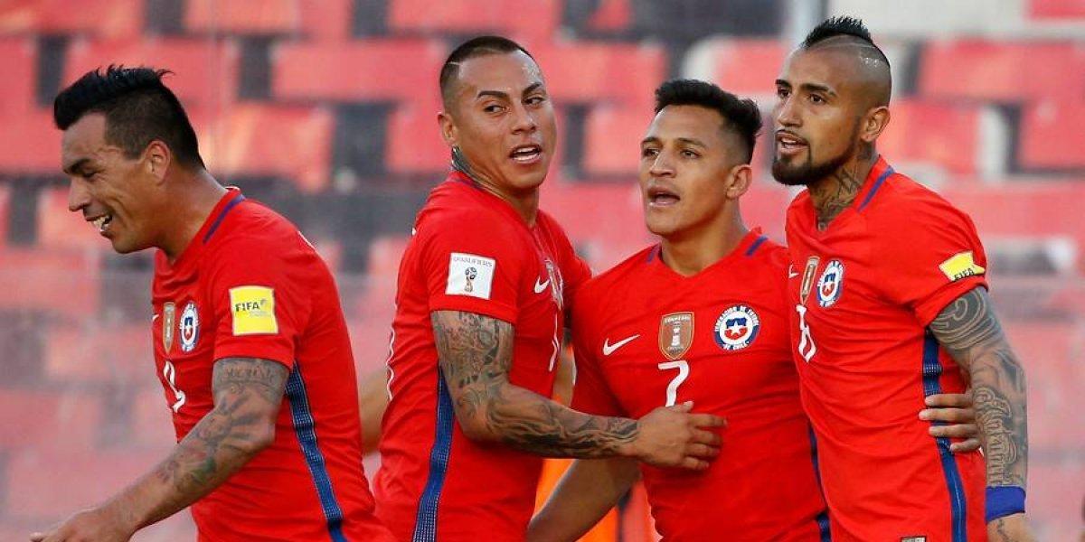 Todavía en la elite: Chile sigue Top 10 en el primer ranking FIFA del 2018