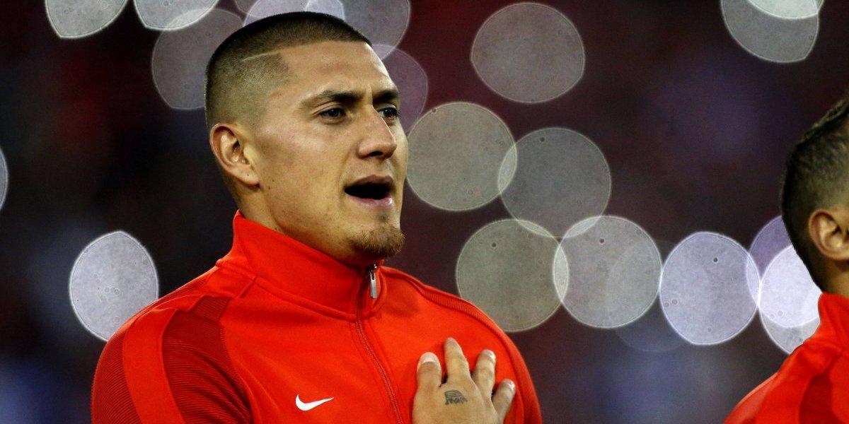 """Nicolás Castillo se confiesa: """"Yo decidí no ir a la Confederaciones por mi lesión en el tobillo"""""""