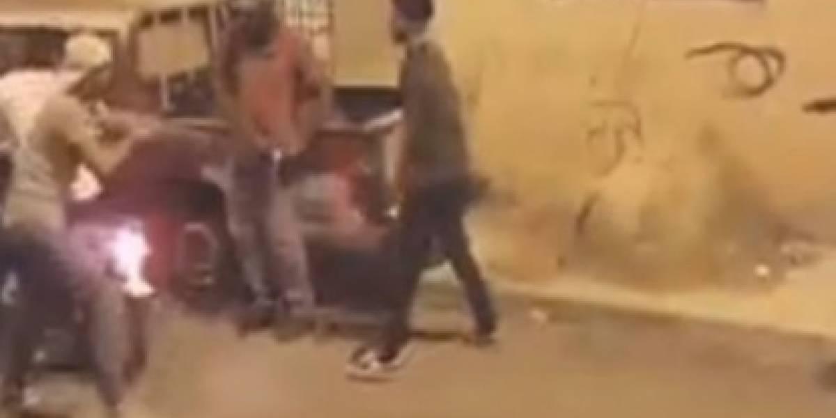 Ladrones intenta robar pero terminan asaltados por sus 'víctimas'